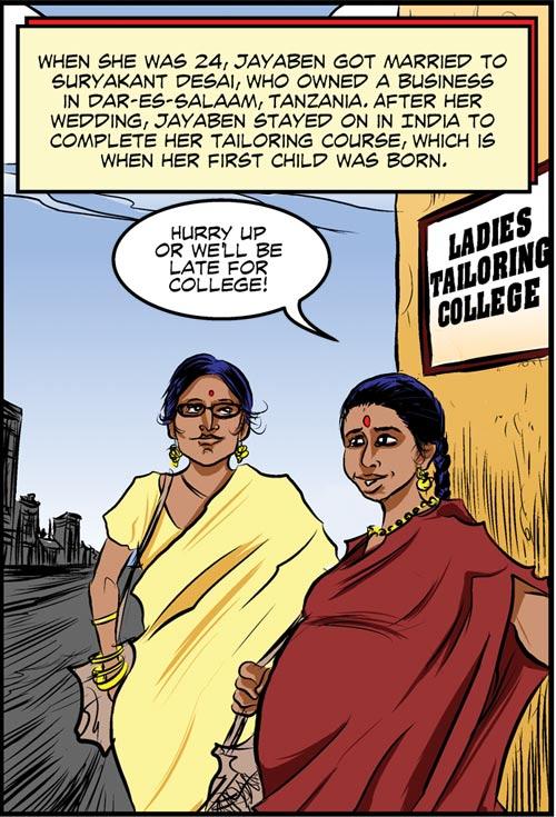 When she was 24, Jayaben got married to Suryakant Desai.