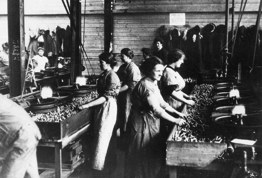 World War I 1914 1918 Striking Women