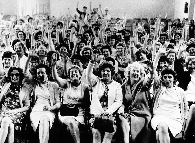 Post World War Ii 1946 1970 Striking Women
