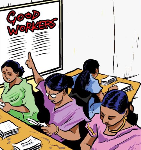 Women in factory