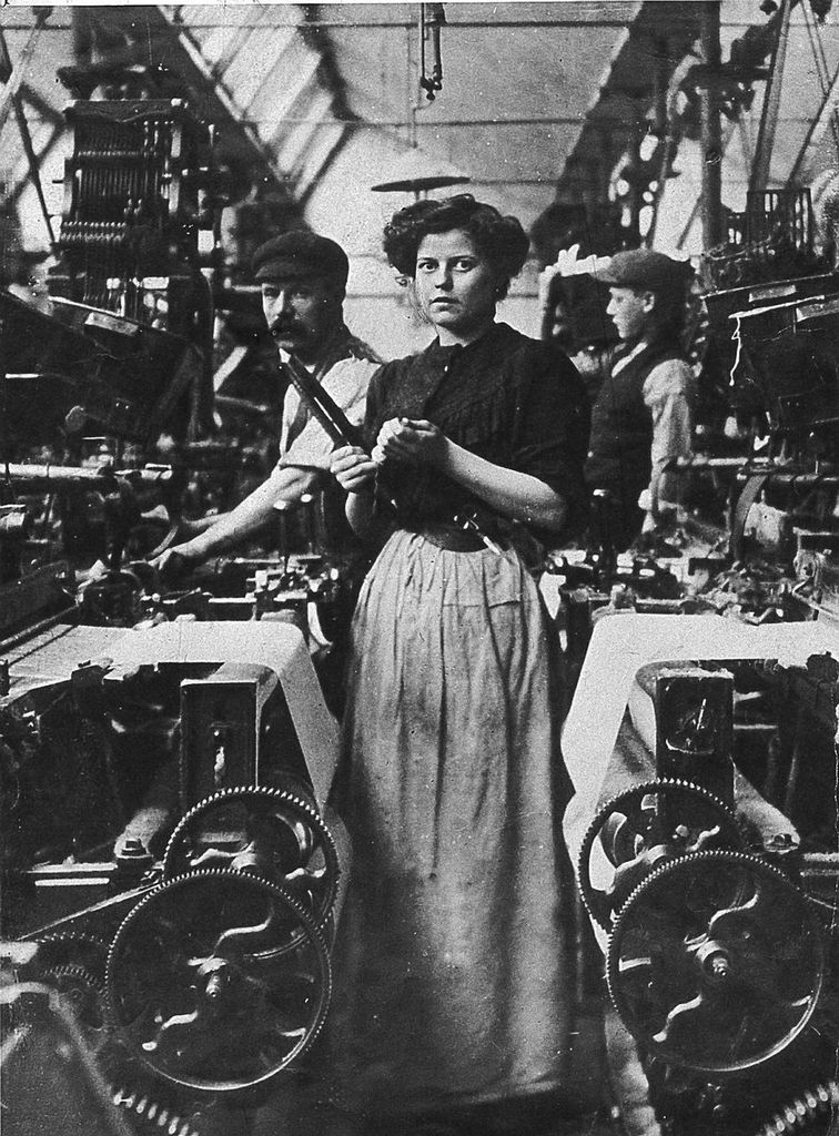english versus japanese female mill workers essay At the beginning of the war, us shipyards employed only 36 female production workers by vj day, bay area shipyards such as richmond's kaiser yards had forged a multi-ethnic workforce of men and women.