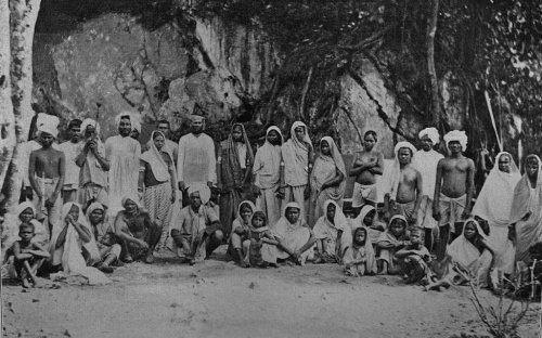 Newly Arrived Coolies in Trinidad, 1897