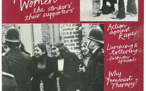 Spare Rib highlights Grunwick women strikers and their supporters