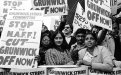 The Grunwick strike in London (1977-79) by primarily South Asian women workers drew widespread support from trade unions across the country