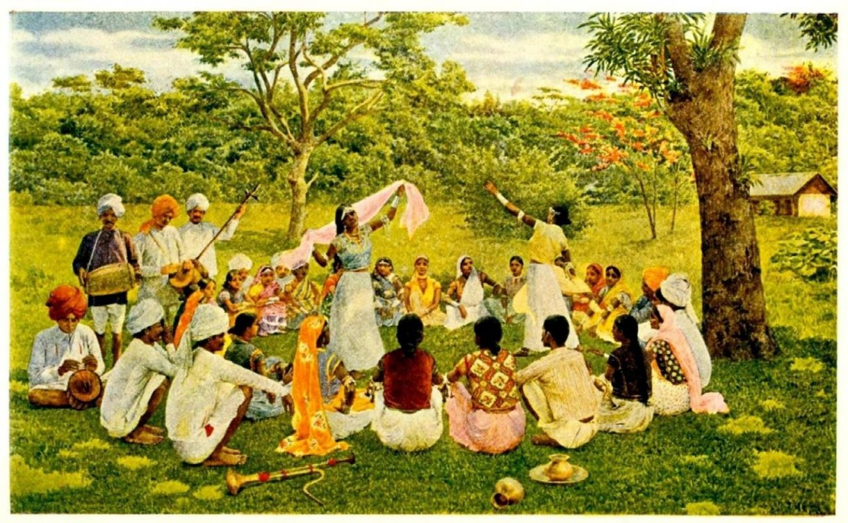 A group of Indian indentured workers in Trinidad